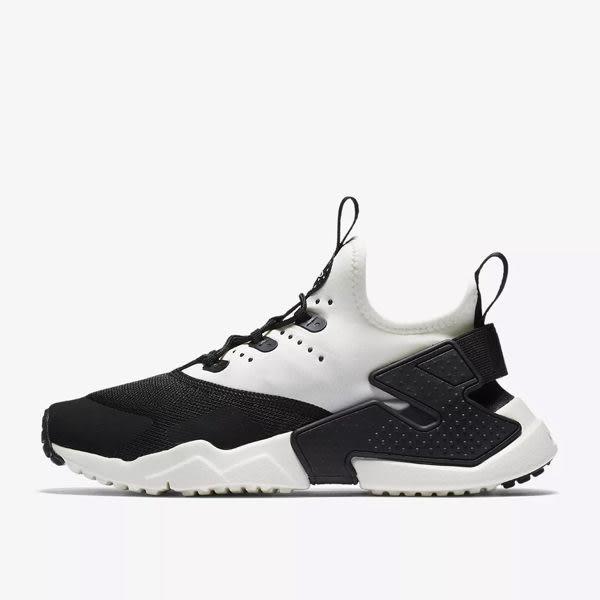 Nike Air Huarache 女鞋 黑武士 黑白 休閒運動鞋 大童鞋 休閒慢跑鞋 run ultra 943344002