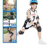 溜冰輪滑鞋護具套裝兒童頭盔滑板自行車平衡車防摔運動護膝安全帽  LX