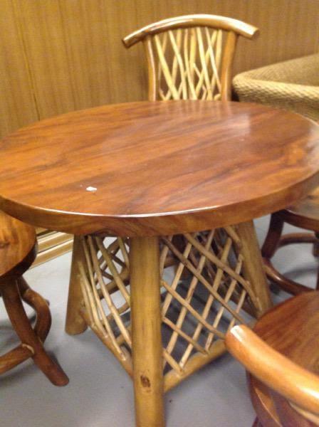 8號店鋪 森寶藝品傢俱企業社 休閒椅組  柚木客廳椅組096~~全實木~~實體店面~~~