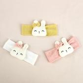 微笑小兔大臉棉感布藝髮帶 微笑 小兔 棉感 布藝 髮帶