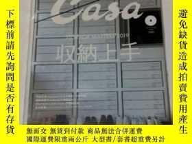 二手書博民逛書店日本原版雜誌罕見CASA BRUTUS日本原版雜誌 CASA BRUTUS 收納上手 2019年4月Y3437