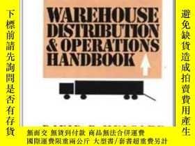 二手書博民逛書店Warehouse罕見Distribution And Operations HandbookY380406