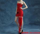 (45 Design)訂做款式7天到貨 專業訂製款 大尺碼 定做顏色  短款公主小禮服 婚禮伴娘 模特 走秀