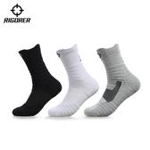 襪子—襪子男短襪運動襪中筒籃球襪低筒短筒防臭吸汗加厚專業跑步襪 莎拉嘿幼