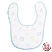 【日本製】【anano cafe】日本製 嬰幼兒紗布圍兜兜 今治毛巾軟棉質 藍色 SD-2997 - 日本製