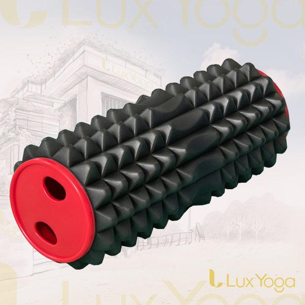 【LUX YOGA】組合式深層組織按摩滾筒(刺蝟型) 按摩滾輪 瑜珈滾輪 自我筋膜放鬆