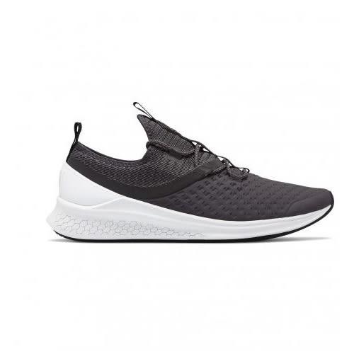 New Balance 男鞋 慢跑 輕量 高延展性鞋面 雷射切割 中底回彈 灰 黑【運動世界】MLAZRHP