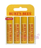 Burt s Bees 蜜蜂爺爺-Beewax 蜂蠟護唇膏 4件經濟裝 17g 原裝平行輸入【彤彤小舖】