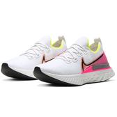 Nike React Infinity Run Flyknit 女鞋 慢跑 休閒 編織 訓練 緩震 白【運動世界】CD4372-004