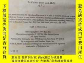 二手書博民逛書店The罕見Absent AuthorY407701 By Ron Roy printed in the U.