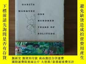 二手書博民逛書店One罕見Hundred Years of Solitude 百年孤獨 毛邊版Y198987 Marquez