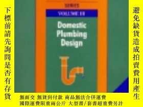 二手書博民逛書店Building罕見Systems Design Series Volume 3: Domestic Plumbi