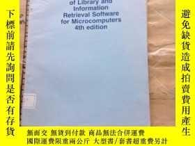 二手書博民逛書店A罕見Directory of Library and Info