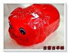 古意古早味 豬公存錢筒(大豬公/透明/大型22x13cm/顏色隨機) 懷舊玩具 儲蓄 理財 童玩