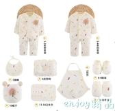 嬰兒衣服保暖純棉新生兒禮盒套裝0-3個月6初生寶寶母嬰用品秋冬季