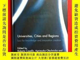 二手書博民逛書店Universities,罕見Cities and Region