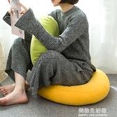 加厚棉麻坐墊純色辦公室久坐地上墊子凳子屁墊椅墊蒲團榻榻米座墊 美物生活館