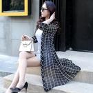 雪紡防曬衣女中長款夏季外套防紫外線透氣時尚超薄款長袖外搭開衫「時尚彩紅屋」