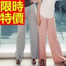 寬褲長褲典型-隨性新品知性明星同款女褲子61f10【巴黎精品】