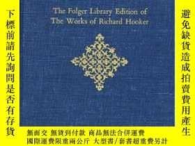 二手書博民逛書店The罕見Folger Library Edition Of The Works Of Richard Hooke