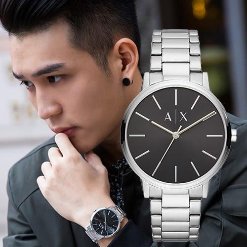 Armani Exchange 簡約時尚鋼錶帶精品腕錶