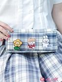 文具盒 筆袋2021新款流行學生大容量簡約日系少女初中可愛文具鉛筆盒 小天使