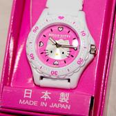 日本製 Hello Kitty CITIZEN 星辰錶 粉底 氣壓防水指針式手錶 日本限定 附精美禮盒