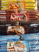 sns 爆漿巧克力 特級 巧克力 威化捲 巧克力捲心酥 (有巧克力 .起司.咖啡.牛奶)口味600公克