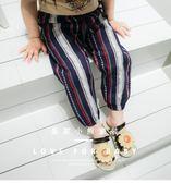 女童裝夏季棉麻防蚊長褲子家居薄女寶寶女嬰兒1235-7歲中小童夏裝 春生雜貨