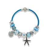 串珠手鍊-琉璃飾品藍色系列海洋風時尚女配件73kc8【時尚巴黎】