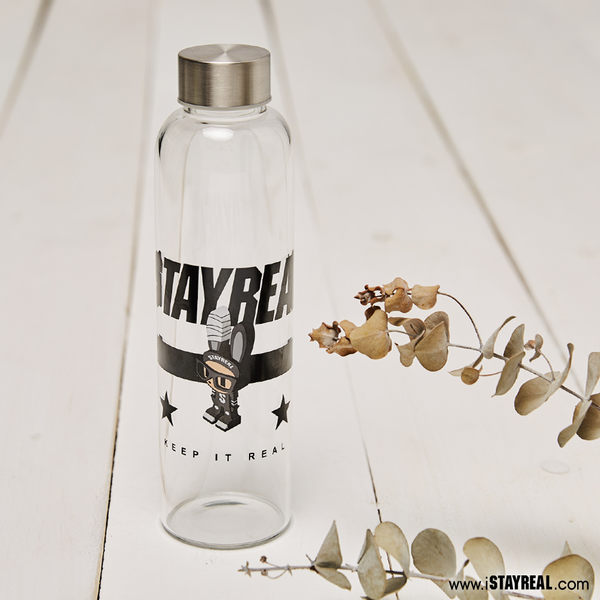 STAYREAL 積木小兔玻璃瓶