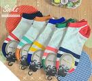 襪子【FSW005】學院風條紋隱形短襪 ...