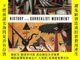 二手書博民逛書店History罕見Of The Surrealist MovementY255562 Durozoi, Ger