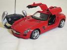 【KENTIM 玩具城】 1:14(1/14)全新賓士Mercedes BENZ SLS AMG 擬真烤漆原廠授權RASTAR遙控車