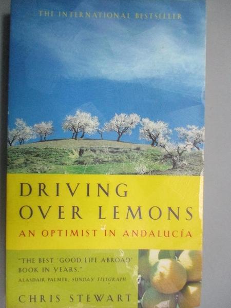 【書寶二手書T4/旅遊_NMA】Driving Over Lemons : An Optimist in Andalucia_Chris Stewart