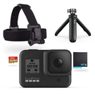 GoPro HERO8 BLACK 假日組合 (內含Shorty手持桿+頭綁+電池及32G記憶卡)