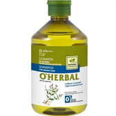 【O HERBAL 歐荷柏】薄荷清爽洗髮精 500ml (油性髮質適用) (效期至2018.10)