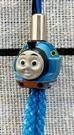 【震撼精品百貨】湯瑪士小火車_Thomas & Friends~湯瑪士手機吊飾/鑰匙圈-藍#84692
