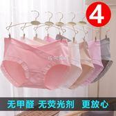 孕婦內褲 孕婦內褲頭純棉懷孕期抗菌透氣低腰全棉4-7孕產婦通用2-6個月專用 珍妮寶貝 珍妮寶貝