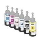 EPSON ㊣原廠填充墨水 單瓶70cc T673 黑.藍.紅.黃.淡藍.淡紅 單瓶顏色任選 適用L800 / L1800 / L805