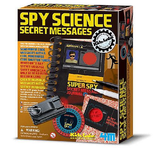 【4M】03295 科學探索-間諜密碼科學 (新) Spy Science-Secret Messages