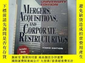 二手書博民逛書店【Mergers,罕見Acquisitions, and Cor