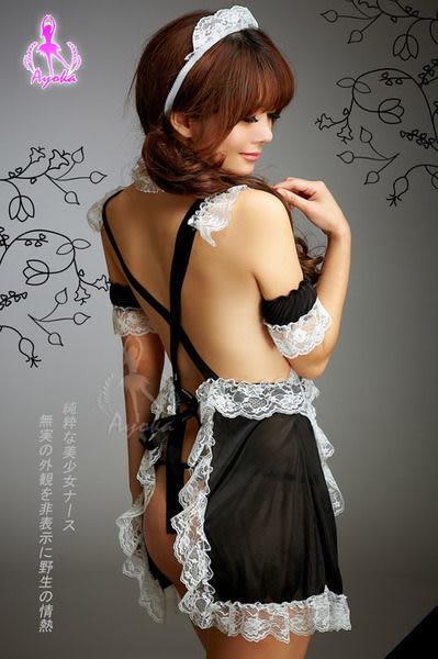 睡衣 性感睡衣 角色扮演 cosplay 星光密碼【N102】溫柔獻禮甜心六件組女傭服女僕裝