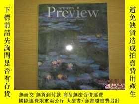 二手書博民逛書店SOTHEBY S罕見Preview 蘇富比2001Y13895