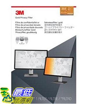 [美國直購] 3M GF220W1B 金色 螢幕防窺片 Privacy Screen Protectors Filter for Widescreen 22.0 - 16:10, 494 mm x 297 mm