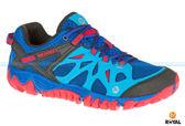 MERRELL 新竹皇家 ALL OUT BLAZE AERO SPORT 藍/紅 防水 水陸兩棲 運動鞋 男款 NO.A7812