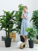 假花仿真發財樹裝飾植物室內假盆栽客廳花大型落地樹綠植塑料盆景 HM 范思蓮恩
