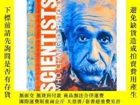 二手書博民逛書店DK百科系列罕見改變歷史的科學家 Scientists Who