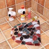 售完即止-浴室防滑墊塑膠地墊地毯衛生間洗澡腳墊淋浴房帶吸盤門墊地毯10-5(庫存清出T)