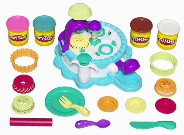 *粉粉寶貝玩具*培樂多專櫃-安全黏土-創意DIY黏土/蛋糕師傅遊戲組